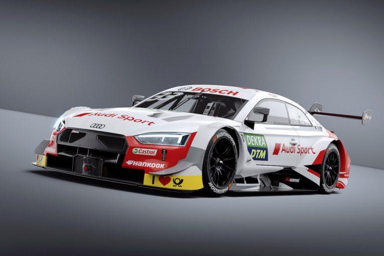 海外レース他 | DTM:アウディ、BMWの両陣営が直噴ターボ初年度のマシンカラーリングを披露