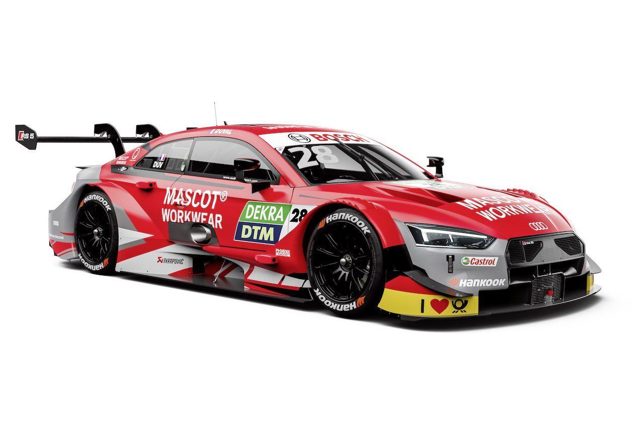 DTM:アウディ、BMWの両陣営が直噴ターボ初年度のマシンカラーリングを披露