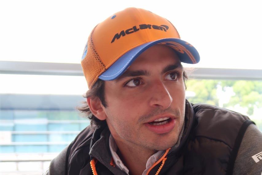 2019年F1第3戦中国GP カルロス・サインツJr.(マクラーレン)