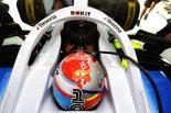 2019年F1第3戦中国GP ジョージ・ラッセル(ウイリアムズ)もF1開催1000回目記念の特別ヘルメット