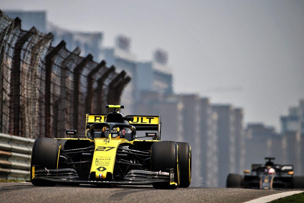 2019年F1第3戦中国GP ニコ・ヒュルケンベルグ(ルノー)