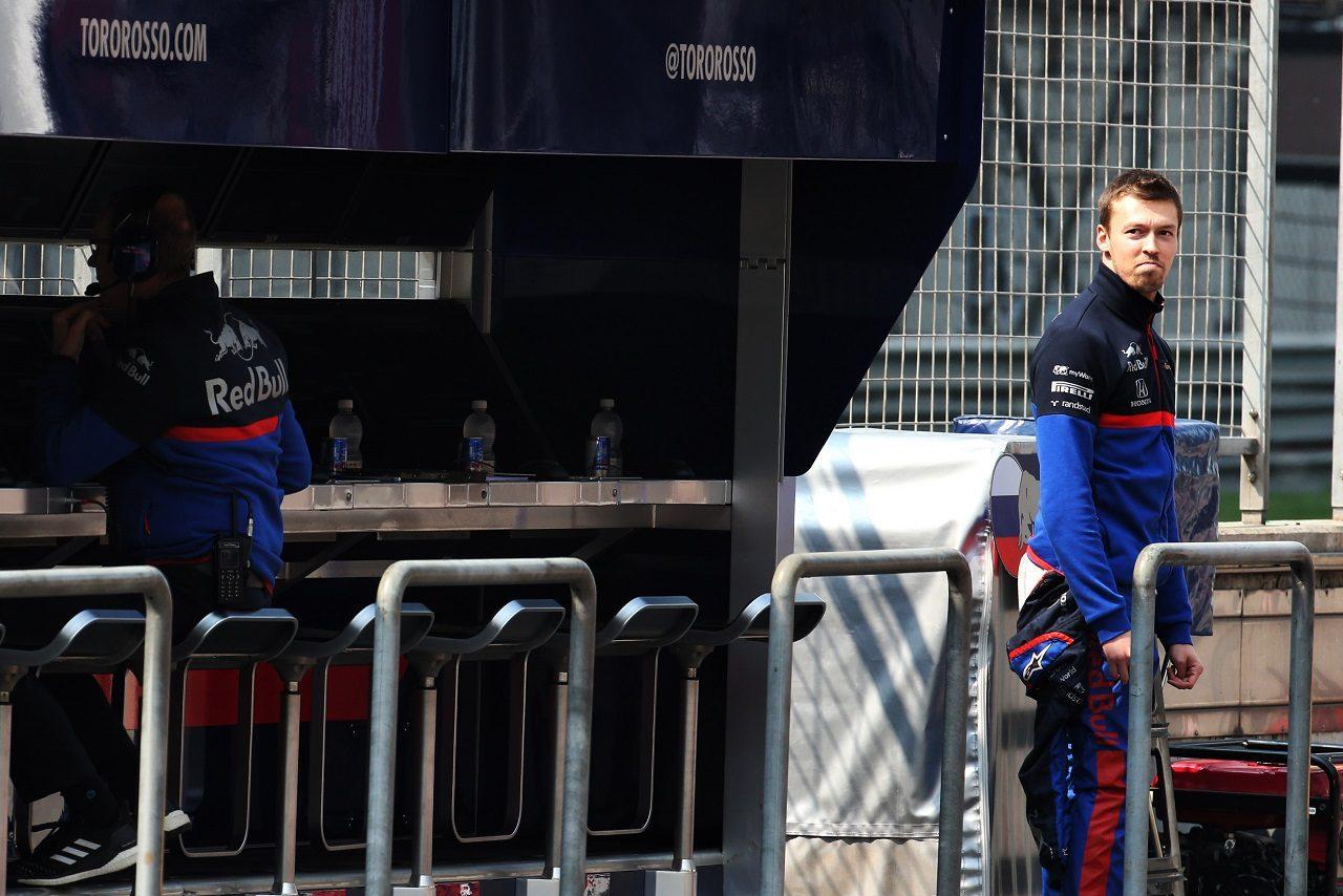 2019年F1第3戦中国GP ダニール・クビアト(トロロッソ・ホンダ)
