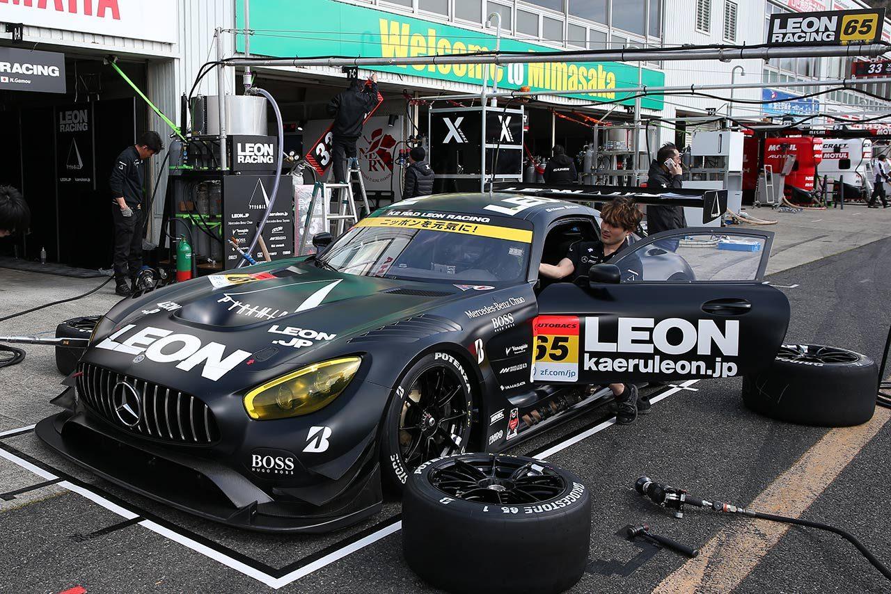 LEON PYRAMID AMG/2019スーパー第1戦岡山