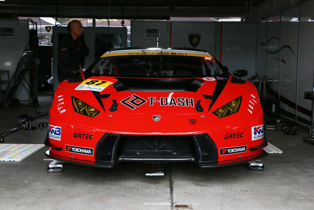 T-DASH ランボルギーニ GT3/2019スーパー第1戦岡山