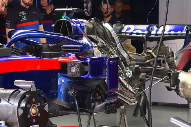 2019年F1第3戦中国GP FP2直前にダニール・クビアトのパワーユニットを交換