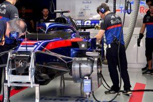F1 | ホンダがクビアトのパワーユニットを交換。データ上に異常を確認、予防的措置で