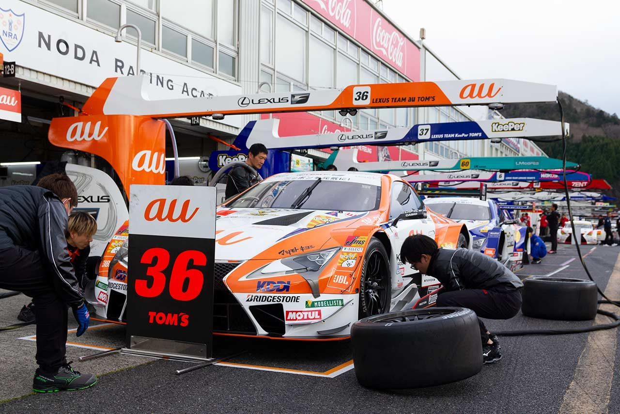 au TOM'S LC500/2019スーパー第1戦岡山