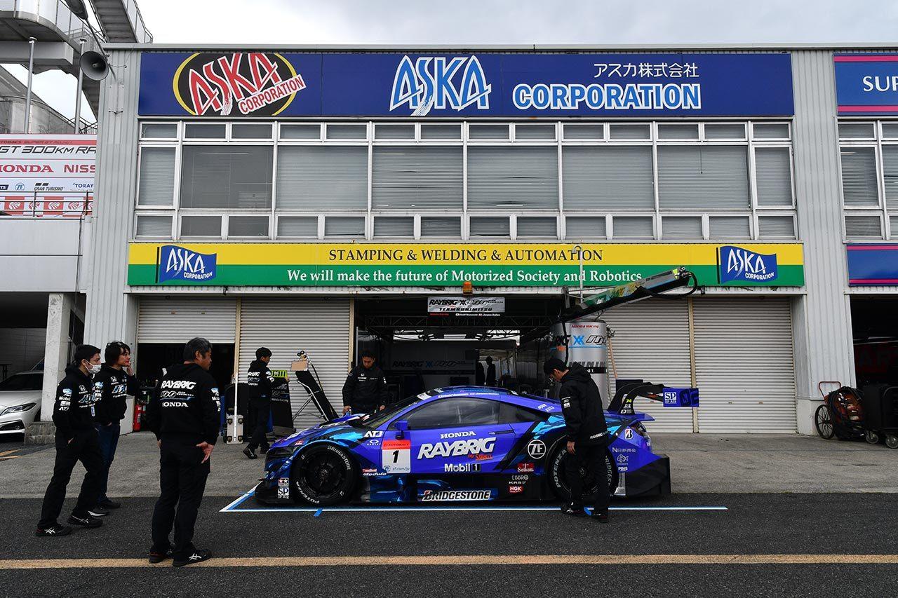 RAYBRIG NSX-GT/2019スーパー第1戦岡山