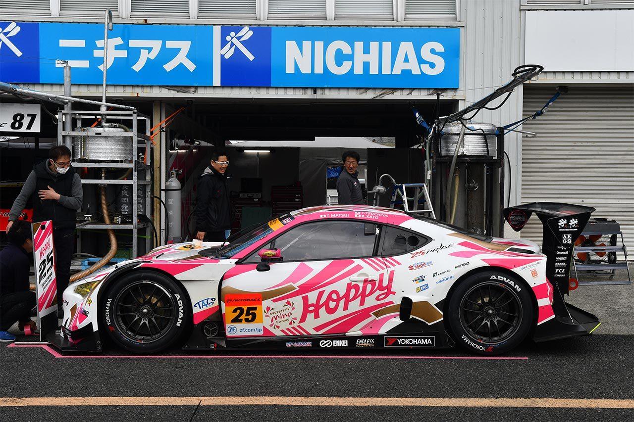 HOPPY 86 MC/2019スーパー第1戦岡山