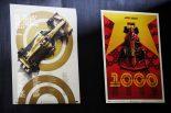 1000回目のF1開催記念、オフィシャルデザインのポスター