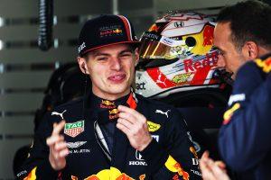 F1 | フェルスタッペン3番手「バーレーンの時と違ってマシンバランスがいい。上位争いができるといいね」:レッドブル・ホンダ F1中国GP金曜