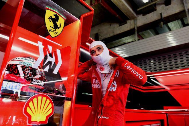 2019年F1第3戦中国GP シャルル・ルクレール(フェラーリ)