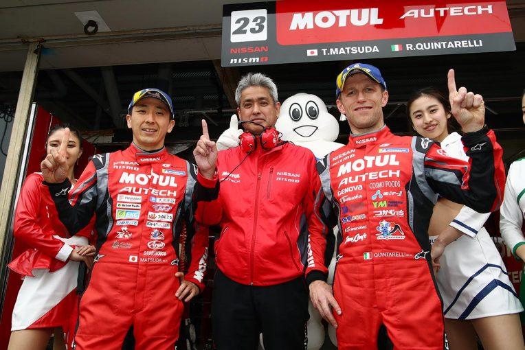 スーパーGT | 【第1戦岡山GT500予選】MOTUL AUTECH GT-Rが復活のポール。フロントロウ独占のニッサンを追うホンダ、苦しいレクサス