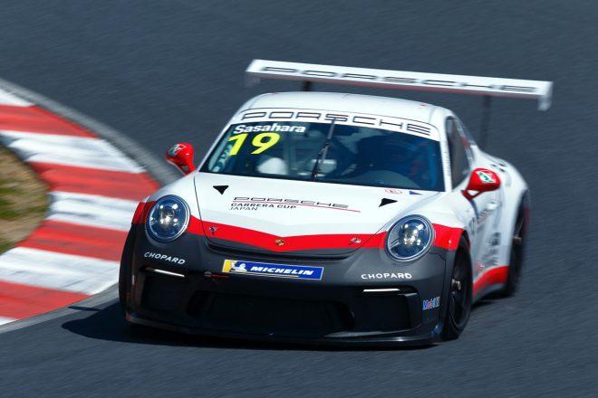 #19 笹原右京(Porsche Japan Junior Program)