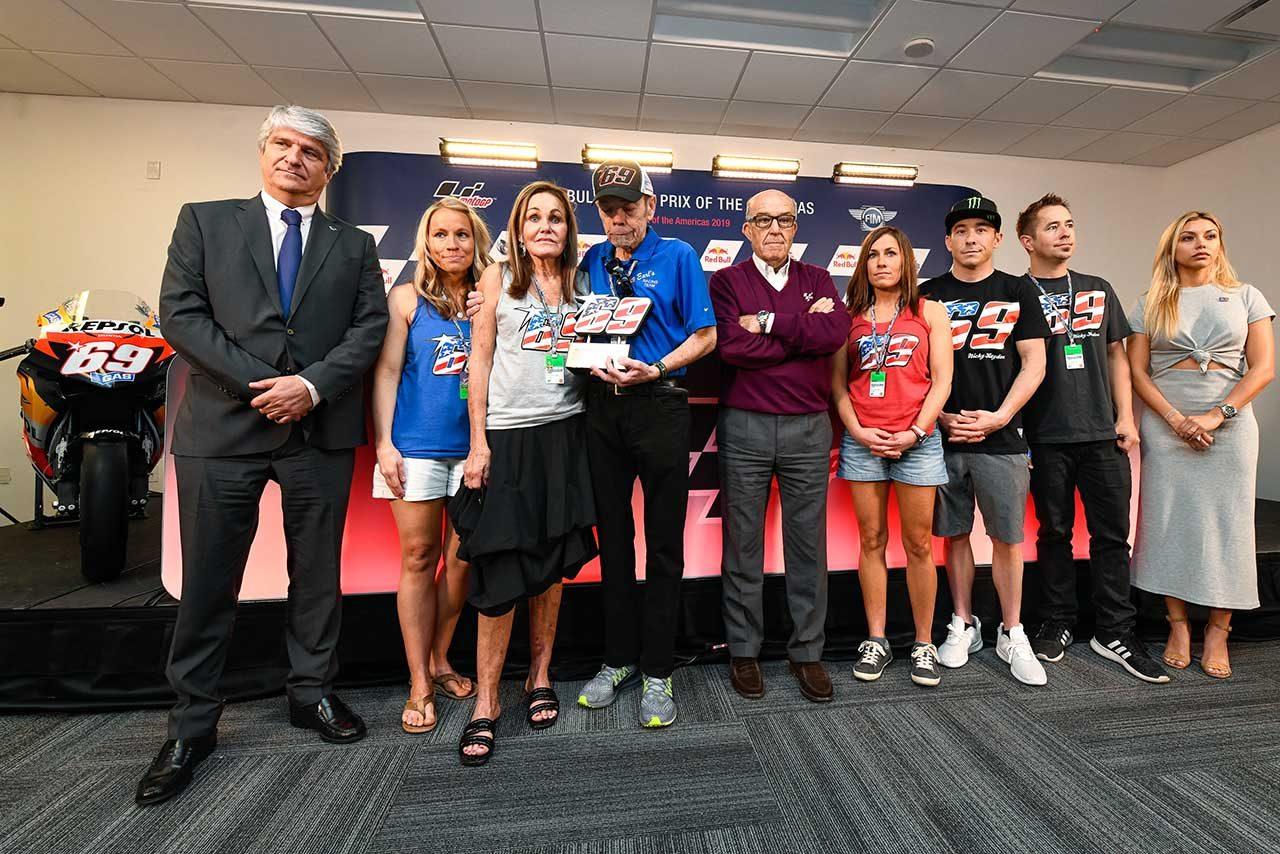 故ニッキー・ヘイデンのゼッケン69、永久欠番へ。MotoGPアメリカズGPでセレモニーが開催
