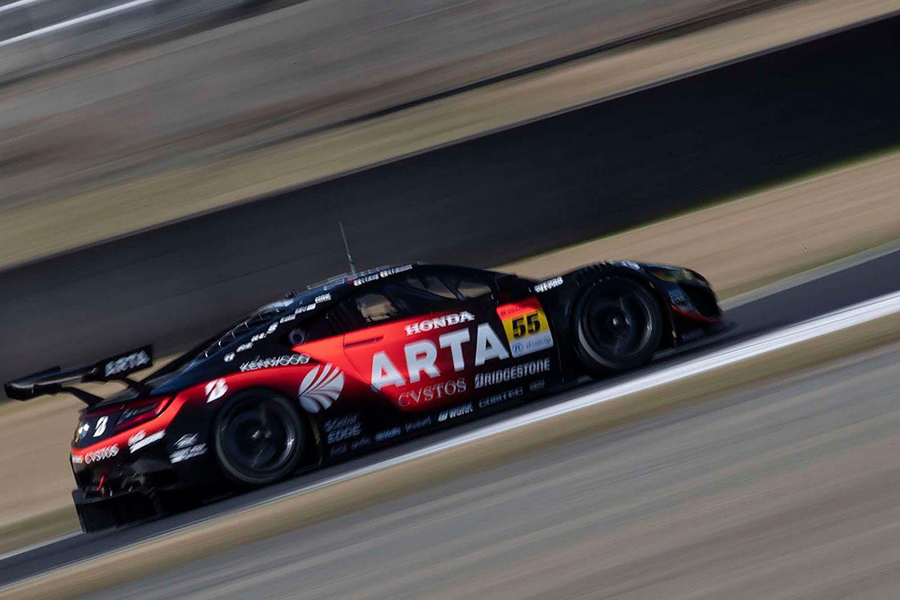 ARTA NSX GT3 スーパーGT第1戦岡山 予選レポート