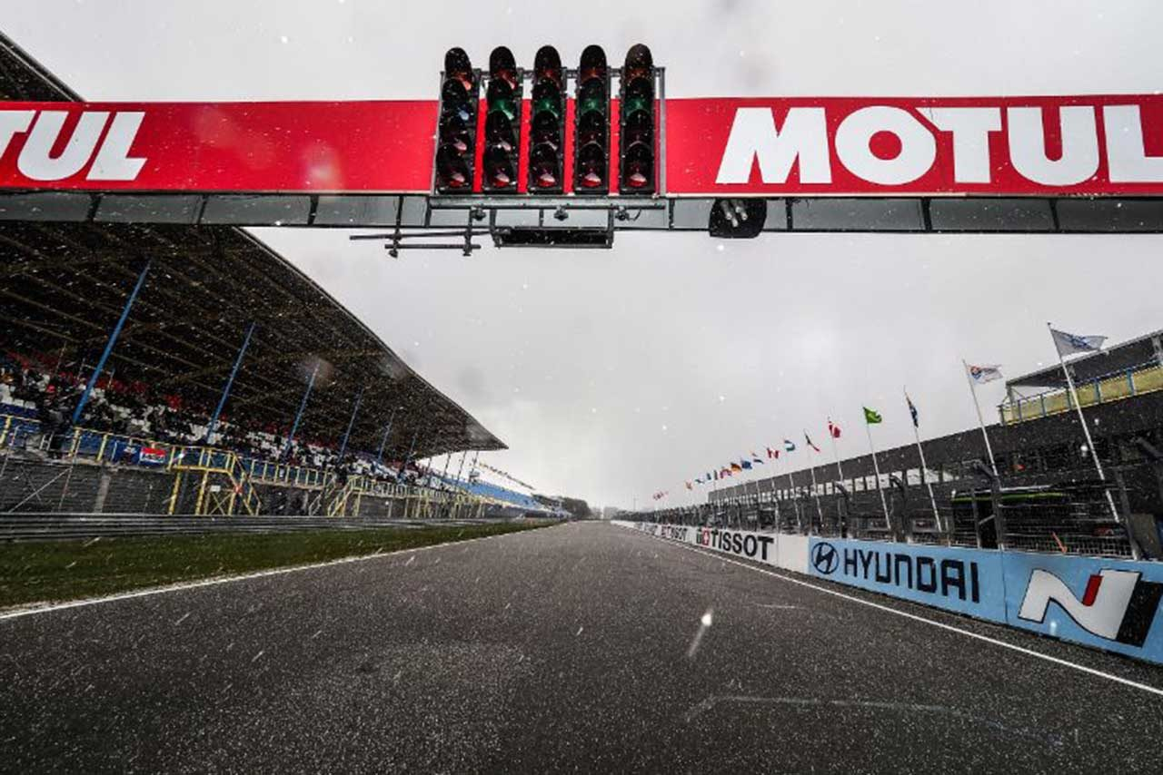 SBK第4戦オランダ、レース1は降雪によりキャンセルに。開催スケジュールが日曜2レースに変更