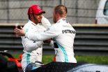 F1 | ハミルトン予選2番手「苦しみ続けてきたが諦めなかった。やっとボッタスに近いタイムを出せるようになった」:メルセデス F1中国GP土曜