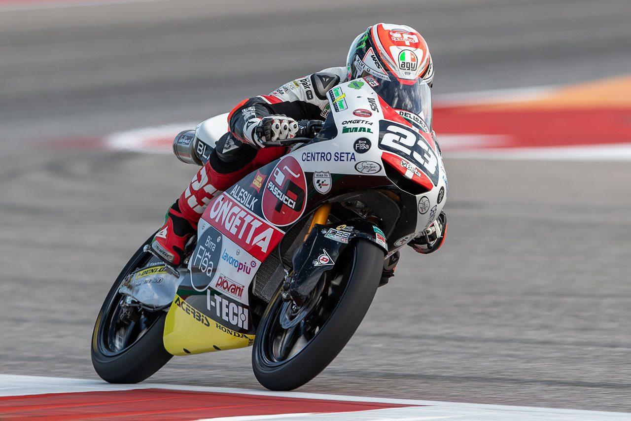 【順位結果】2019MotoGP第3戦アメリカズGP Moto3クラス予選