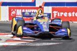 海外レース他 | インディカー第4戦ロングビーチ:ロッシが好アタックで逆転ポール。琢磨は8番手に