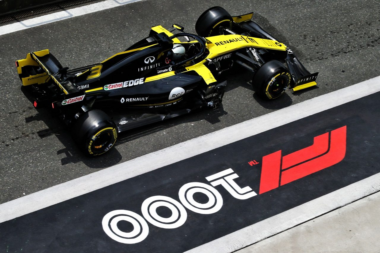 2019年F1第3戦中国GP ダニエル・リカルド(ルノー)