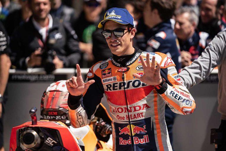 MotoGP | 雷雨により全クラスFP3キャンセルのMotoGPアメリカズGP予選日。マルケスが堂々のポール獲得
