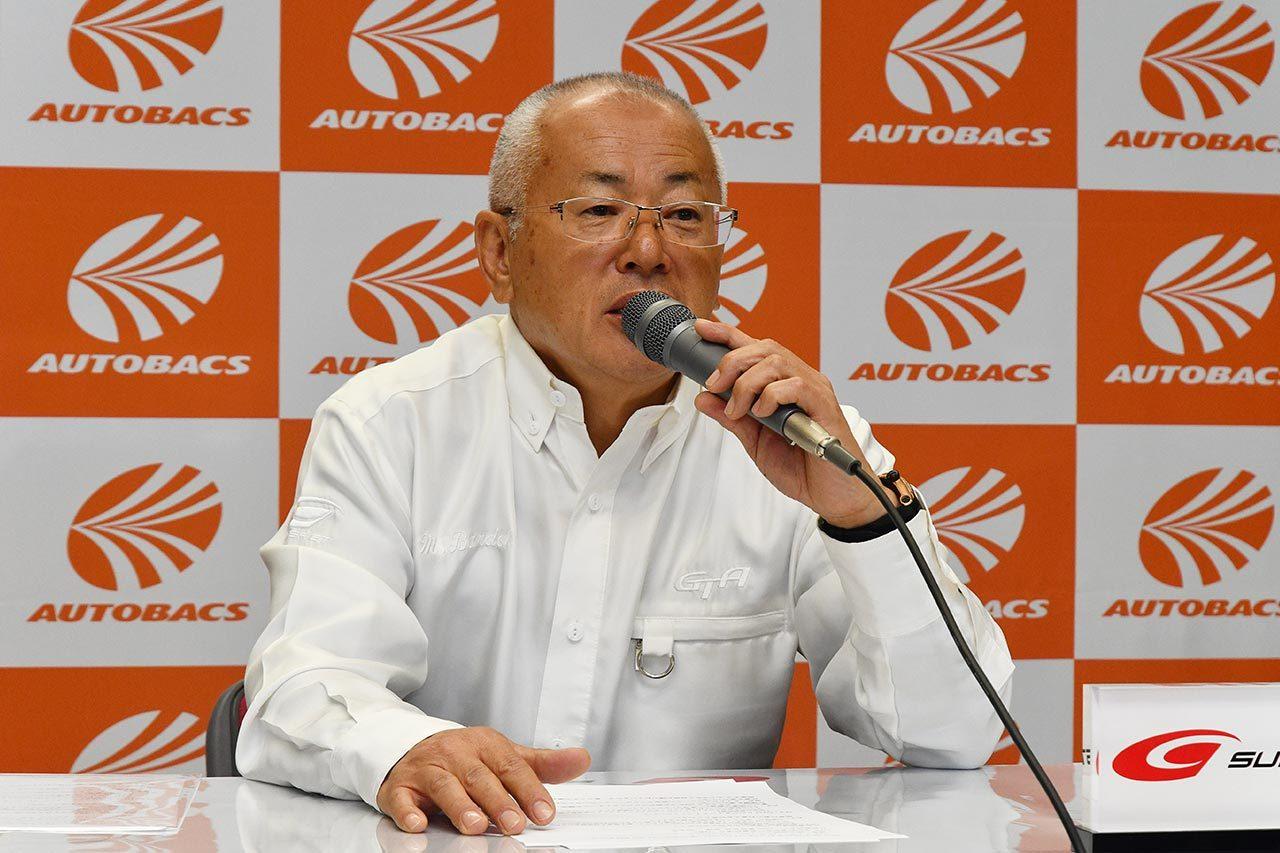 11月開催のSGT×DTM交流戦についてGTA坂東代表が現状を説明。「粛々と調整を進めている」
