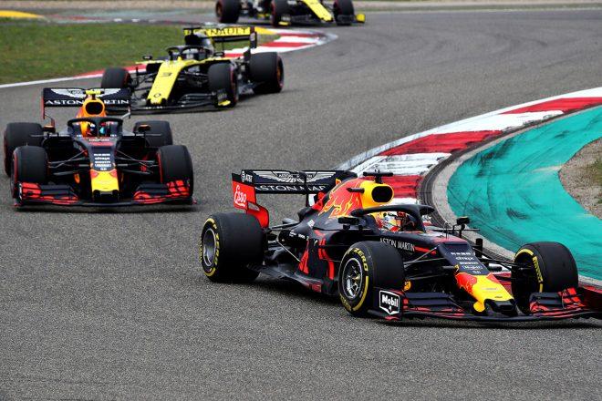 2019年F1第3戦中国GP マックス・フェルスタッペン(レッドブル・ホンダ)