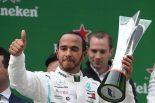 F1 | F1第3戦中国GP決勝:1000戦目の節目で、王者メルセデスが貫禄のワンツーフィニッシュ。レッドブル・ホンダはダブル入賞