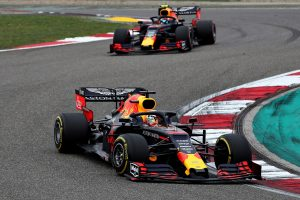F1 | 2019年F1第3戦中国GP マックス・フェルスタッペンとピエール・ガスリー(レッドブル・ホンダ)