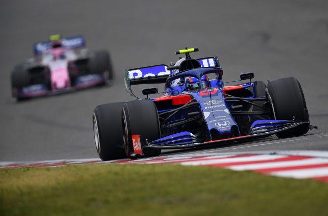 2019年F1第3戦中国GP アレクサンダー・アルボン(トロロッソ・ホンダ)
