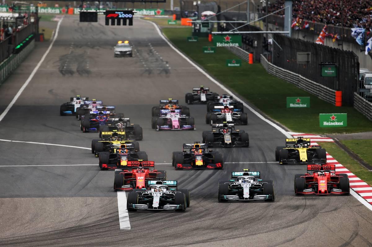 2019年F1第3戦中国GPスタート