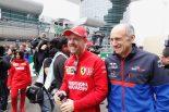 セバスチャン・ベッテル(フェラーリ)とトロロッソのフランツ・トスト代表