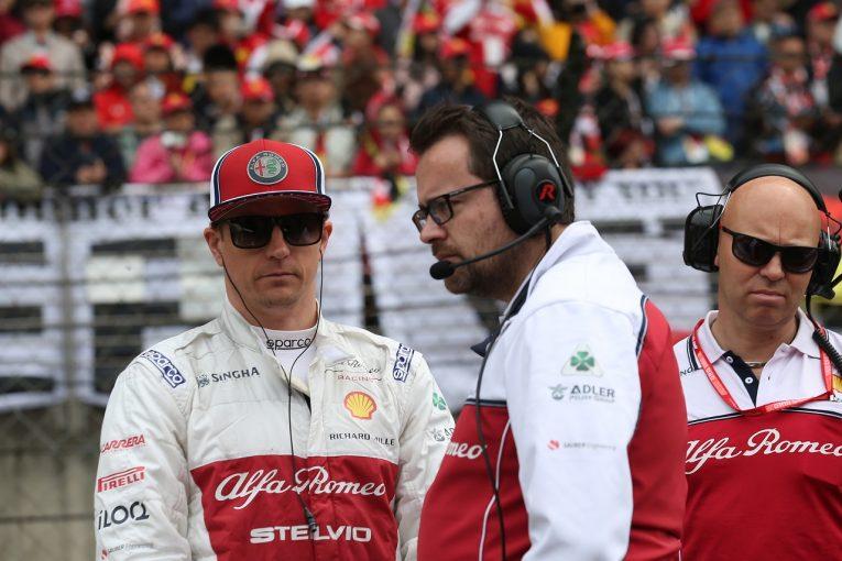 F1 | ライコネン3戦連続入賞「13番グリッドから9位は悪くはないが、もう少し上に行きたかった」:アルファロメオ F1中国GP日曜
