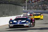 運も味方に首位に浮上した66号車フォードGTだったが、アクシデントで表彰台獲得とならず