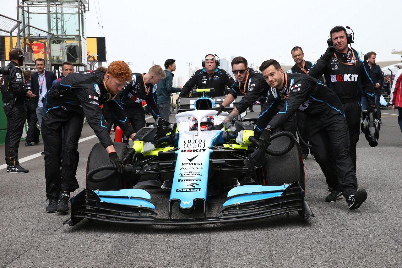 2019年F1第3戦中国GP ロバート・クビサ(ウイリアムズ)