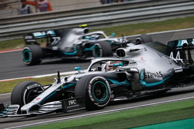 2019年F1第3戦中国GP ルイス・ハミルトン(メルセデス)