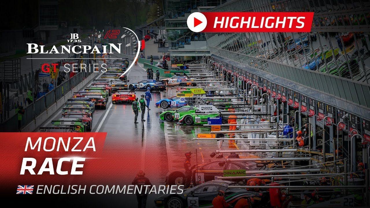 ブランパンGT:雨に翻弄された第1戦モンツァ。度重なるリーダーチェンジの末に新型ポルシェが勝利