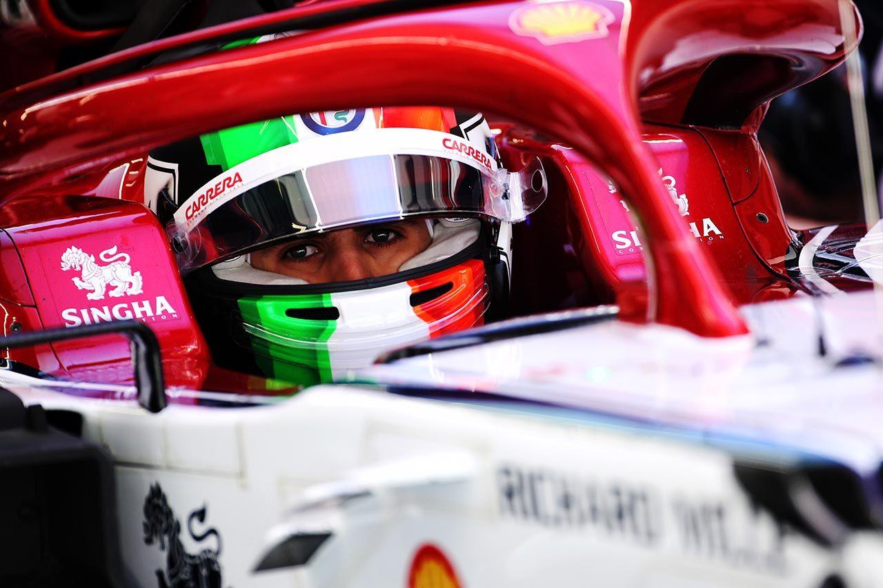 2019年F1中国GP アントニオ・ジョビナッツィ(アルファロメオF1)