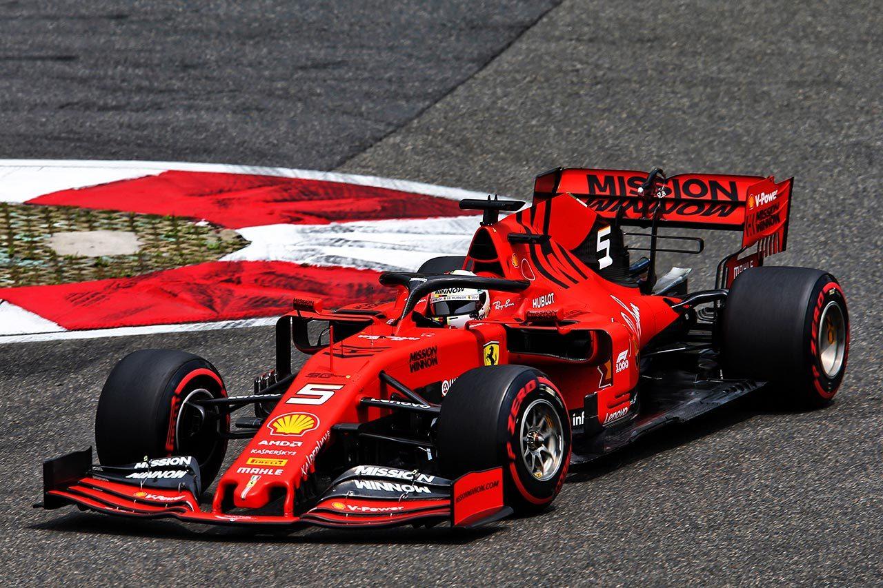 2019年F1中国GP セバスチャン・ベッテル(フェラーリ)