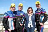 GTEクラス2位となったケッセル・レーシングは3名全員が女性ドライバーだ