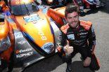 ポールポジションを獲得したGドライブ・レーシングのノルマン・ネート