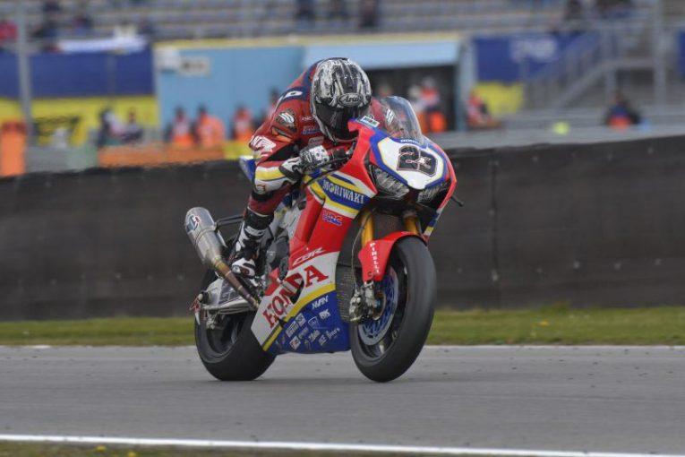 MotoGP | SBK:スーパーポールでのクラッシュに、マシントラブル。清成龍一、第4戦オランダは苦戦強いられる