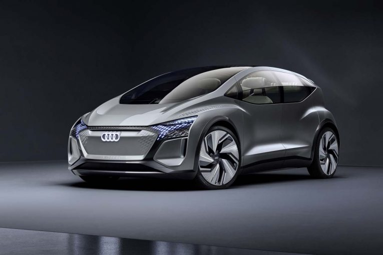 クルマ   アウディ、近未来シティカーのビジョンを示した『AI:ME』を上海モーターショーで発表