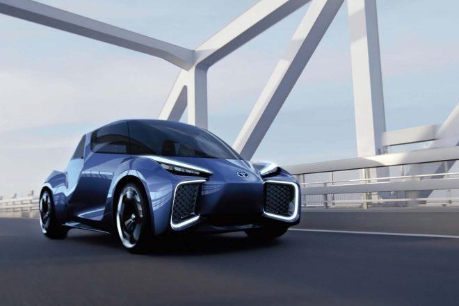 EVコンセプト車『RHOMBUS』