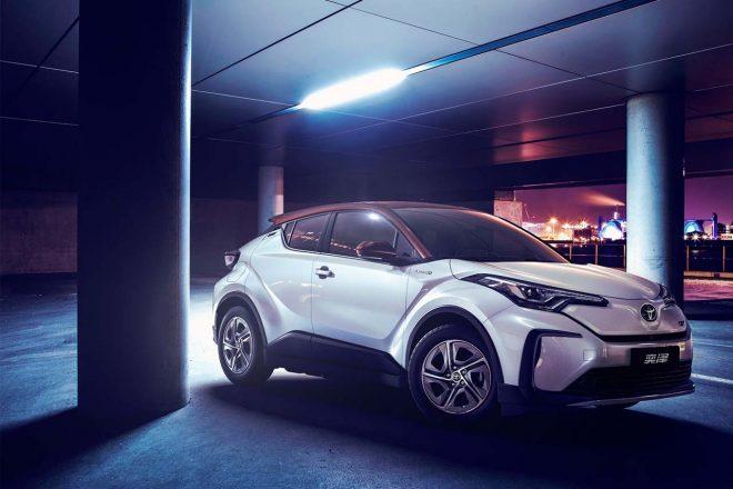 2020年、中国で発売予定の新型EV『トヨタIZOA』