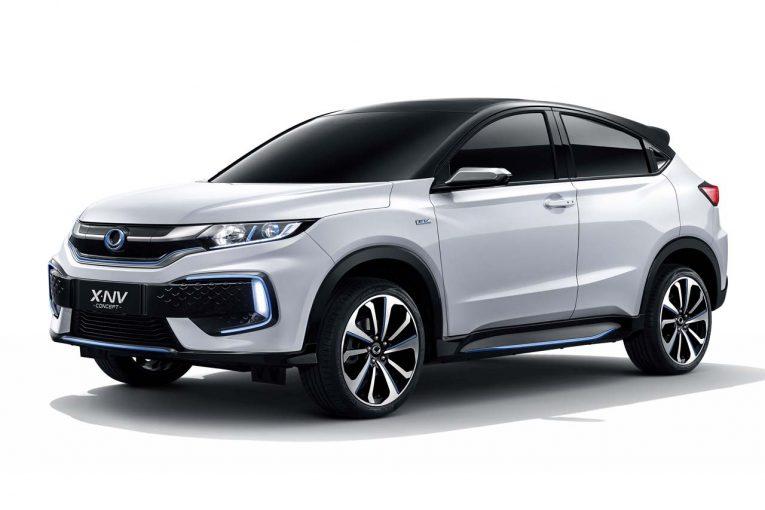 クルマ | ホンダ、上海モーターショーで中国専売EV第2弾『X-NVコンセプト』を世界初公開