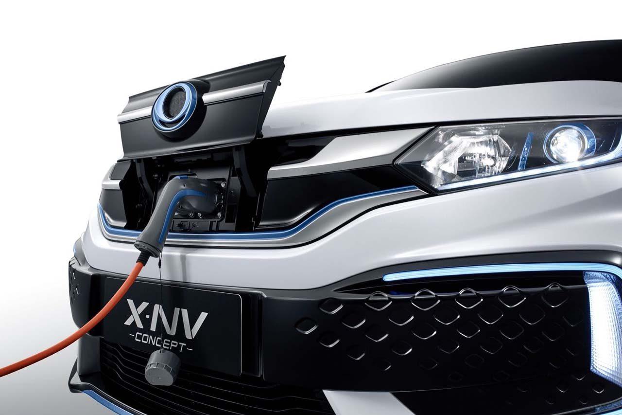 ホンダ、上海モーターショーで中国専売EV第2弾『X-NVコンセプト』を世界初公開