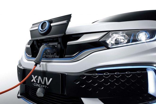 ホンダX-NVコンセプト/エクステリア・ディテール