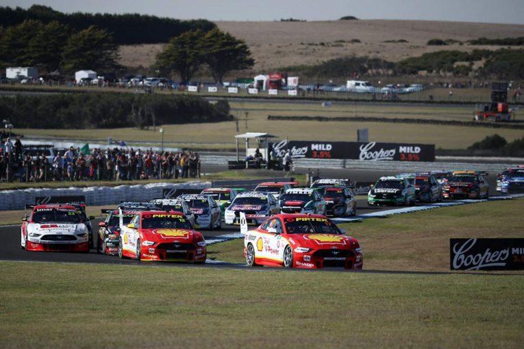 海外レース他   豪州スーパーカー第4戦:新車マスタングの快進撃止まらず。王者擁するDJRペンスキー連勝
